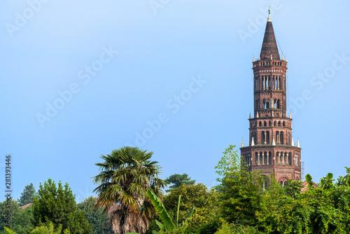 Photo  Abbey of Chiaravalle, Milan: the tower