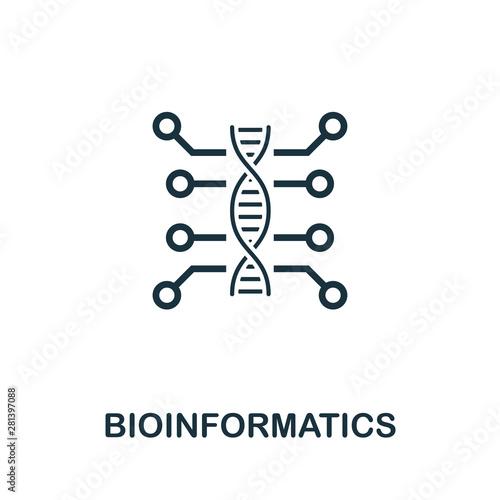 Photo Bioinformatics icon symbol
