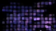 Verschwommene Quadrate - Violett