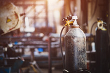 Iron Gas Cylinder For Welding ...