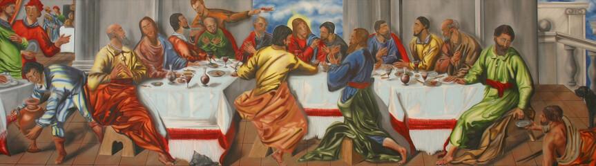 Last Supper, Saint Nicholas Church in Bistra, Croatia
