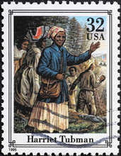 Harriet Tubman On American Pos...