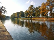 River Avon Evesham Worcestershire English Midlands England UK