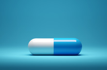 Close Up Of A Medicine Capsule...