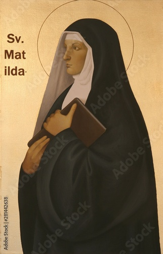 Photo  Saint Matilda of Saxony