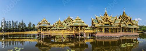 Con. Antique Ancient City Temple, Bangkok, Thailand