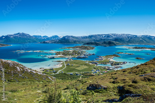 Sommaroy in Troms, Norway,