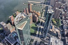 Vista Aerea Sul Financial District, New York City