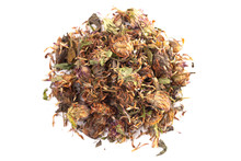Dried Red Clover Flowers And L...
