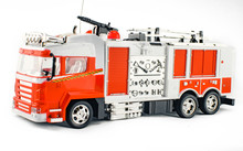 Toy Fire Engine With Fire Hose...