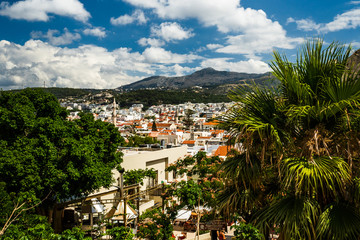 Panoramic view of Crete