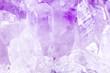 Hintergrund lila Amethyst, Makro Nahaufnahme Mineralien und Heilsteine