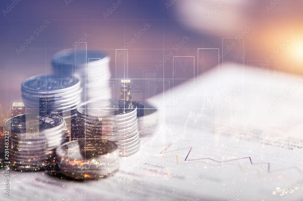 Fototapeta Finance.