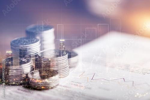 Fototapeta Finance. obraz