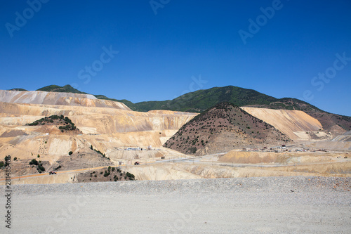 bingham canyon open pit copper mine