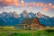 Leinwandbild Motiv Colorful landscape in the American West.