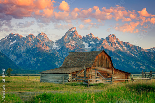 Photo  Colorful landscape in the American West.