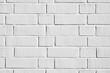 Weiße Ziegelstein Wand