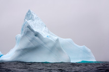 View Of Iceberg In Sea