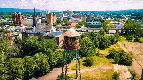 Fényképezés Wilkes-Barre, Pennsylvania cityscape
