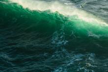 View Of Crashing Ocean Waves