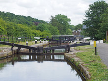 Lock Gates On The Rochdale Can...