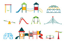 Kid Playground Equipment Flat ...