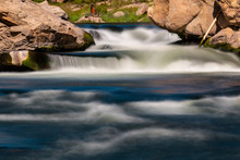 Whitewater At The Headwaters Of The South Fork Of The South Platte River In Eleven Mile Canyon Colorado