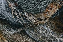 Close Up Of Fishing Nets
