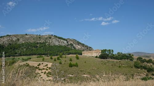 Fotografie, Tablou  Segesta, Province of Trapani, Sicily