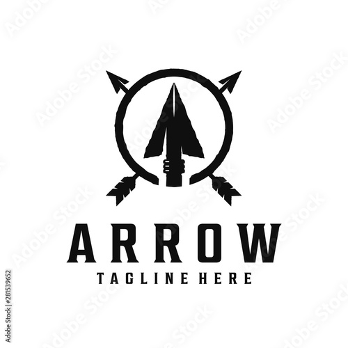 Photo Spear, arrow / arrowhead vintage logo