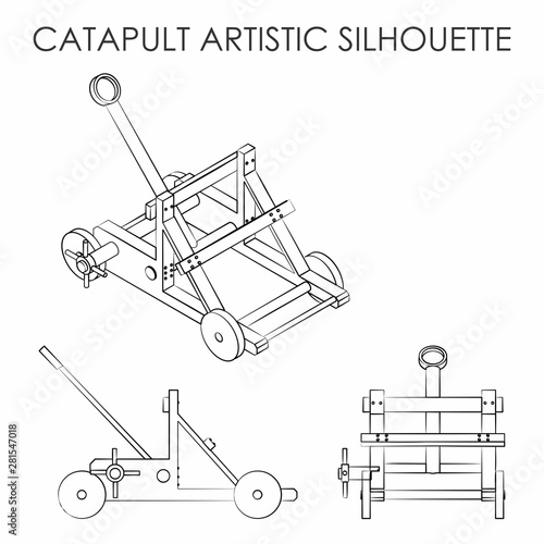 Foto Catapult colored