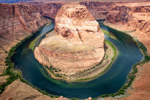 Horseshoe Bend, Colorado River Meander, Arizona United States