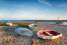 Boats On The Beach At West Mer...