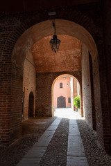 Sant Angelo Lodigiano: the medieval castle