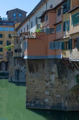 Fototapeta na wymiar Florence Italy river Arno