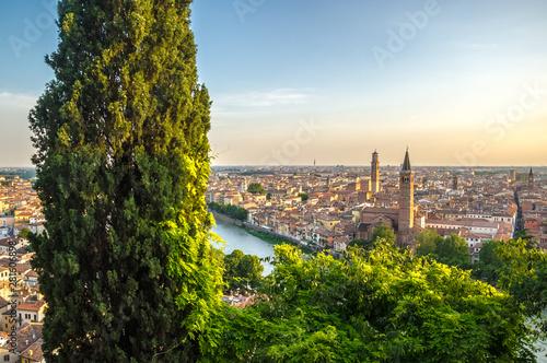 Poster Milan Sunset in Verona