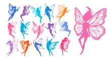 Cute Fairy Art. Beautiful Fair...