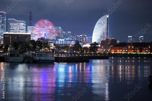 Photo  横浜みなとみらいの夜景