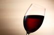 赤ワインのアップ