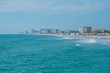 Daytona Beach Florida. July 07, 2019 Panoramic view of Daytona Beach from Main Street Pier 1