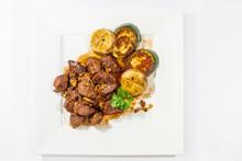 Stir Fried Beef Served With Mu...