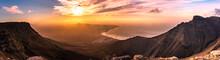 Amazing Summer Sunset Panorama...