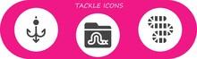 Tackle Icon Set
