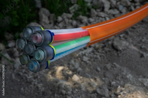Pipes and ducts for fibre optics for high speed telecommunications #281676045