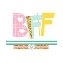 Fashion Kids Print BFF Or Best...