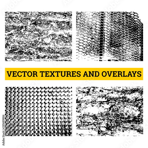 Abstract halftone vector illustration Wallpaper Mural