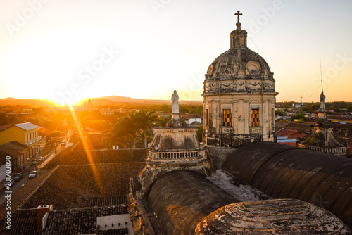 Obraz na plátně Travel Photos from Granada, Nicaragua