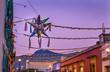 Leinwanddruck Bild - Colorful Mexican Pinata Street Oaxaca Juarez Mexico