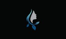 Woman Spa Logo Design Template
